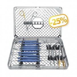 Essentials Chirurgie Tray blu cobalto
