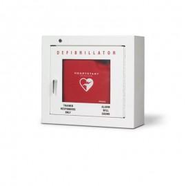 Teca metallica per montaggio a parete AED per interni