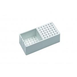 Contenitore per sterilizzazione frese e piccoli strumenti, 72 fori