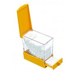 Distributore a cassetto porta rulli