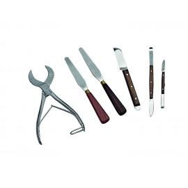 Spatole, pinze e coltelli
