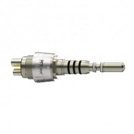 Attacco rapido per turbina QCKW con sistema di regolazione spray