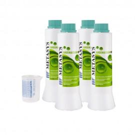 Green & Clean RD N, 4 Flaconi e Dosatore