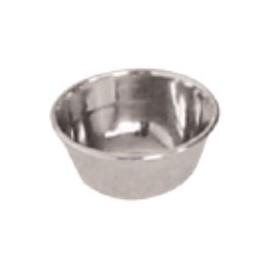 Vassoio tondo in acciaio inox diam. 50 mm