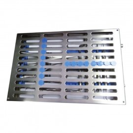 Cassetta portastrumenti per sterilizzazione in inox