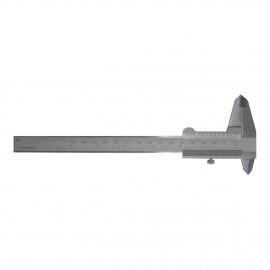 Calibro millimetrato in acciaio