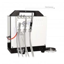 Riunito Dentale Veterinario Portatile Dentaway, compressore interno