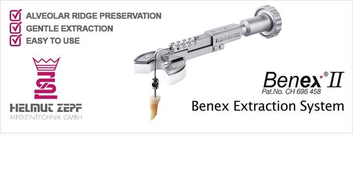 Helmut Zepf: estrazione dentale con Benex II